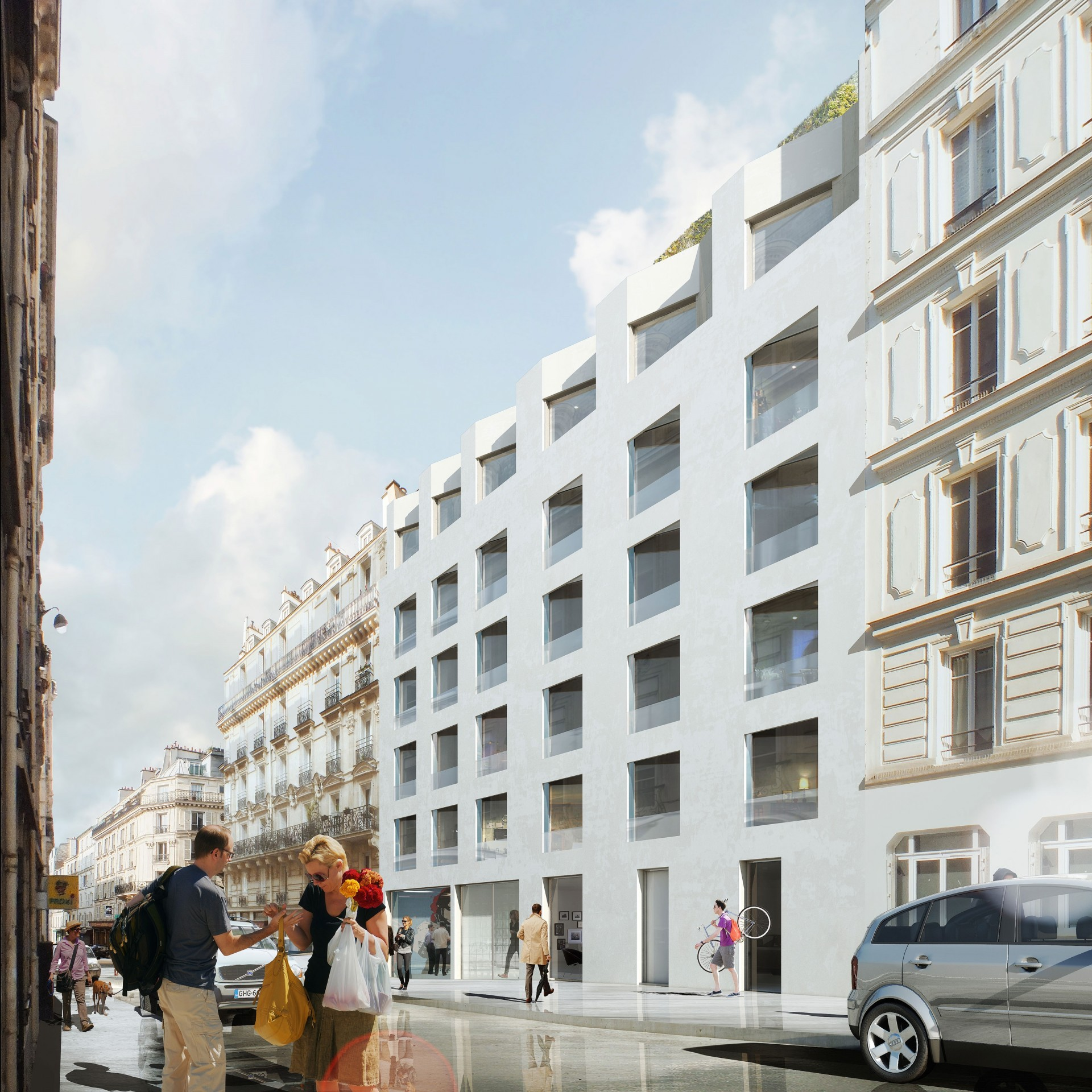 72 logements, Paris 17 - Agence Catherine Dormoy Architectes